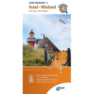 ANWB Regiokaart 5 Texel - Vlieland