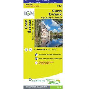 IGN 117 Caen/Evreux