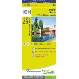IGN 119 Evry/Melun/Provins
