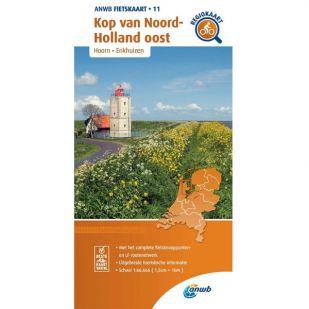ANWB Regiokaart 11 Kop van Noord-Holland oost