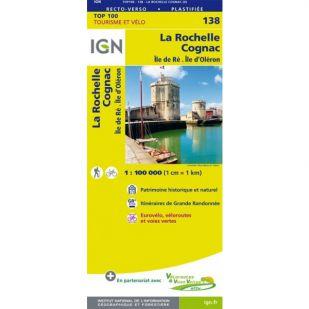 IGN 138 La Rochelle/Saintes