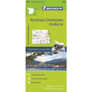 Michelin 146 Pyrénées Orientales/Andorra