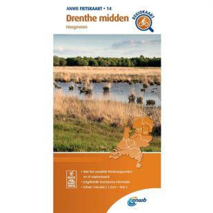 ANWB Regiokaart 14 Drenthe midden