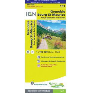 IGN 151 Grenoble/Chambery