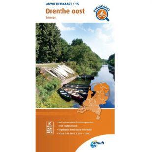 ANWB Regiokaart 15 Drenthe oost