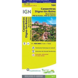 IGN 164 Carpentras/Digne-Les-Bains