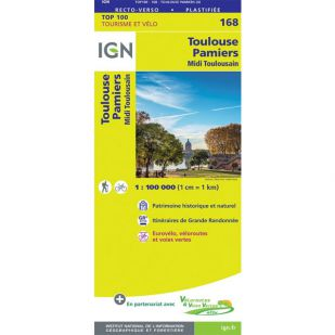 IGN 168 Toulouse/Pampiers