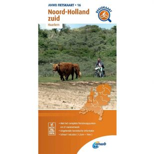 ANWB Regiokaart 16 Noord-Holland zuid