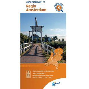 ANWB Regiokaart 17 Amsterdam