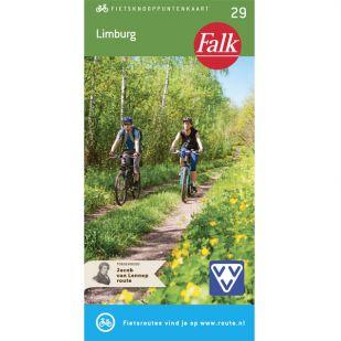 Falk Fietsknooppuntenkaart 29: Limburg