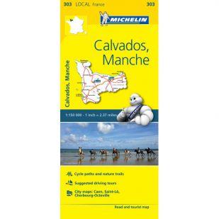 Michelin 303 Calvados, Manche
