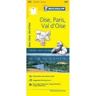 Michelin 305 Oise, Paris, Val-D'Oise