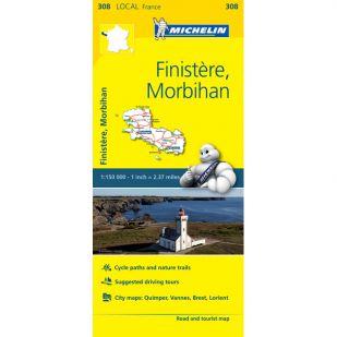 Michelin 308 Finistere, Morbihan
