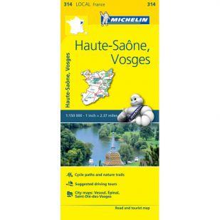 Michelin 314 Haute-Saone, Vosges