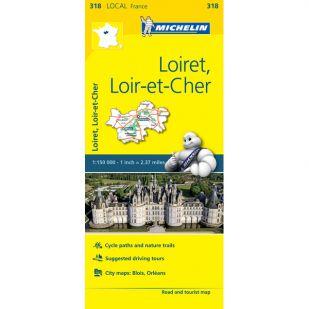 Michelin 318 Loiret, Loir-Et-Cher