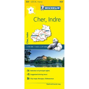 Michelin 323 Cher, Indre