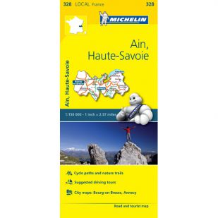 Michelin 328 Ain, Haute-Savoie