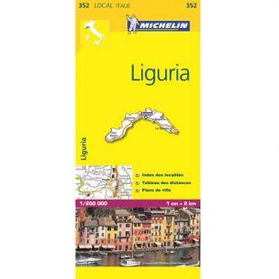 Michelin 352 Liguria