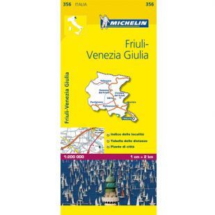 Michelin 356 Friuli Venezia Giula