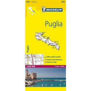 Michelin 363 Puglia
