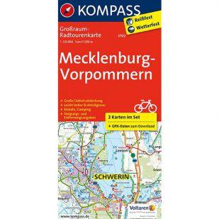 KP3702 Radkarte Mecklenburg-Vorpommern !