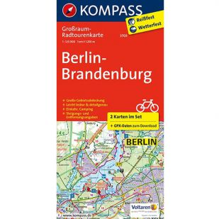 KP3703 Radkarte Berlin-Brandenburg !