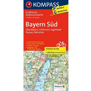 KP3712 Radkarte Bayern Sud