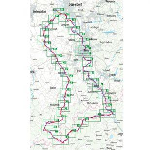3 Flusse Tour Bikeline Fietsgids 313 km (2020)
