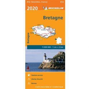 Michelin 512 Bretagne 2020