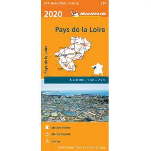 Michelin 517 Pays de la Loire 2020