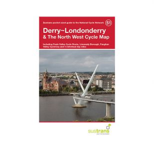 51. Derry - Londonderry Cycle Map