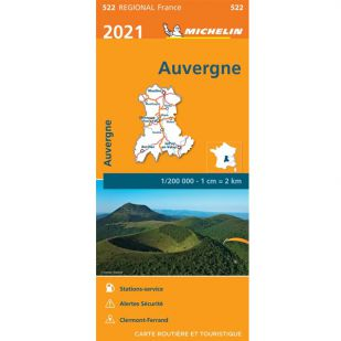 Michelin 522 Auvergne Limousin 2021