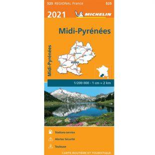 Michelin 525 Midi-Pyrenees 2021