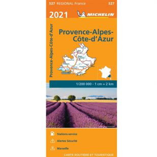 Michelin 527 Provence Alpes 2021