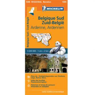 Michelin 534 Zuid-Belgie en de Ardennen