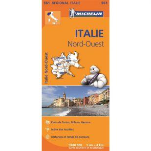 Michelin 561 Italie Nord-Ouest Michelin