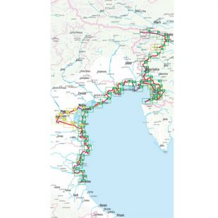 Adriabike Bikeline Fietsgids - Tarvisio naar Ravenna