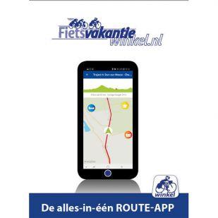 In uw App-store: Hanzefietsroute 1 naar Lübeck