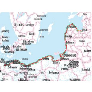 Iron Curtain Trail 2: Baltic Sea Cycle Route Bikeline Fietsgids