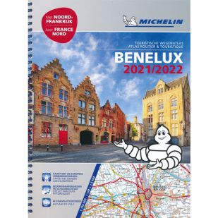 Benelux Wegenatlas 2021/2022