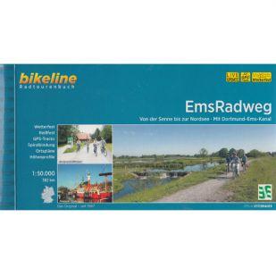 Ems Radweg Bikeline Fietsgids