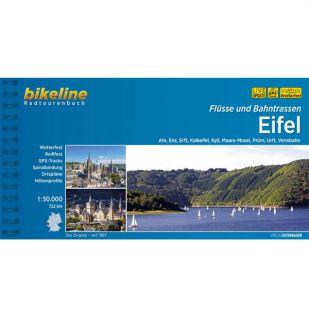 Eifel Flusse und Bahntrassen Bikeline Fietsgids