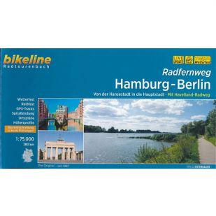 Radfernweg Hamburg-Berlin Bikeline Fietsgids !