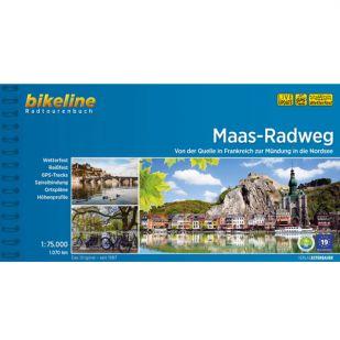 Maas Radweg - Bikeline Fietsgids