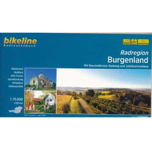 Radregion Burgenland  Bikeline Fietsgids
