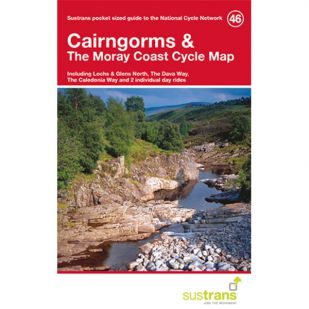 46. Cairngorms & the Moray Coast Cycle Map