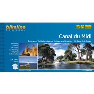 Canal du Midi  Bikeline Fietsgids !