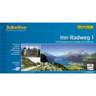 Inn Radweg 1 Bikeline Fietsgids