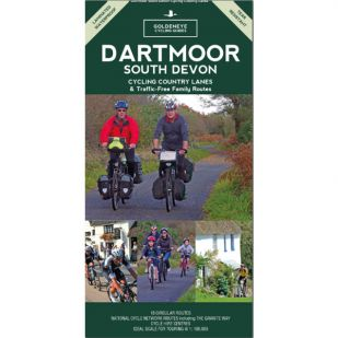 Dartmoor South Devon Cycling Map