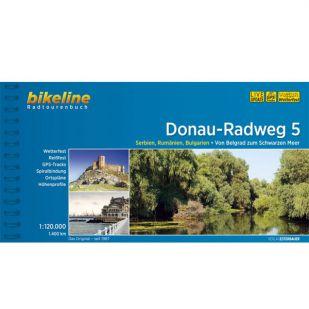Donau Radweg 5 Bikeline Fietsgids